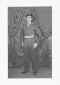 William Lister (Dad) 1954, shortly before his deployMent to  Egypt.
