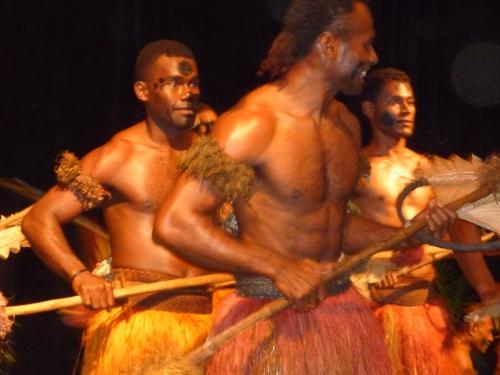Fijian dancers 2010