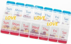 A weekly organised 'treat' of LOVE