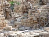 Ruins at Caesarea