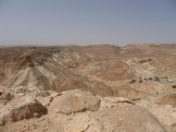 Terrain around Masada