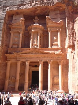 The Treasury as seen in the Indiana Jones film