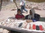 women selling jewellry atPetra
