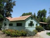 Ben Gurion house at Sde Boker kibbutz in the Negev