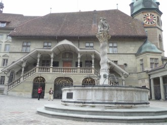 Fish Fountain, Fribourg